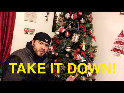 when should you take down your christmas tree jenny and jay vlogs youtube. Black Bedroom Furniture Sets. Home Design Ideas