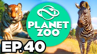 TERRAFORMING THE BENGAL TIGER & BAIRD'S TAPIR HABITATS!!! - Planet Zoo Ep.40 (Gameplay / Let's Play)