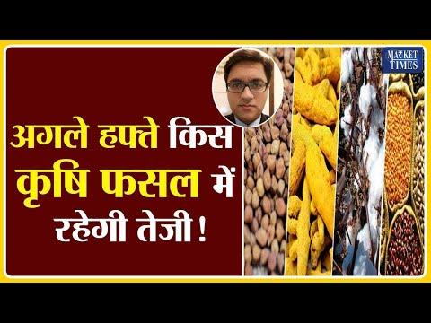 अगले हफ्ते किस कृषि फसल में रहेगी तेजी ! Market Times TV #soyabean #sarso #mustard #chana #krishi