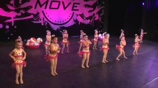 Dazzle Stars 2017 Dance Competition - Beach Babes - Jazz Routine