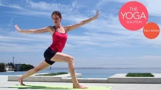 Energizing Daily Flow Routine | The Yoga Solution With Tara Stiles