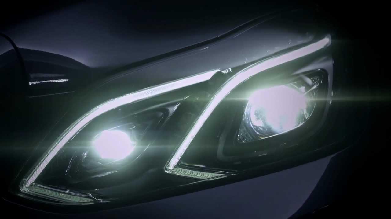 The new light design mercedes benz original youtube for Mercedes benz lighting