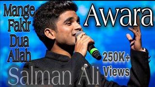 Awara Full Song | Mange Fakir Dua-E-Allah | Salman Ali | Muskaan | Dabangg 3 New Romantic Song Awara