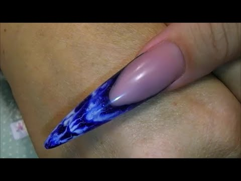 HOW TO | Sculpt a Stiletto GEL nail | Nailsofnorway