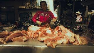 """Chợ Bà Hoa - thân thương """"chợ xứ Quảng"""" tại Sài Gòn"""