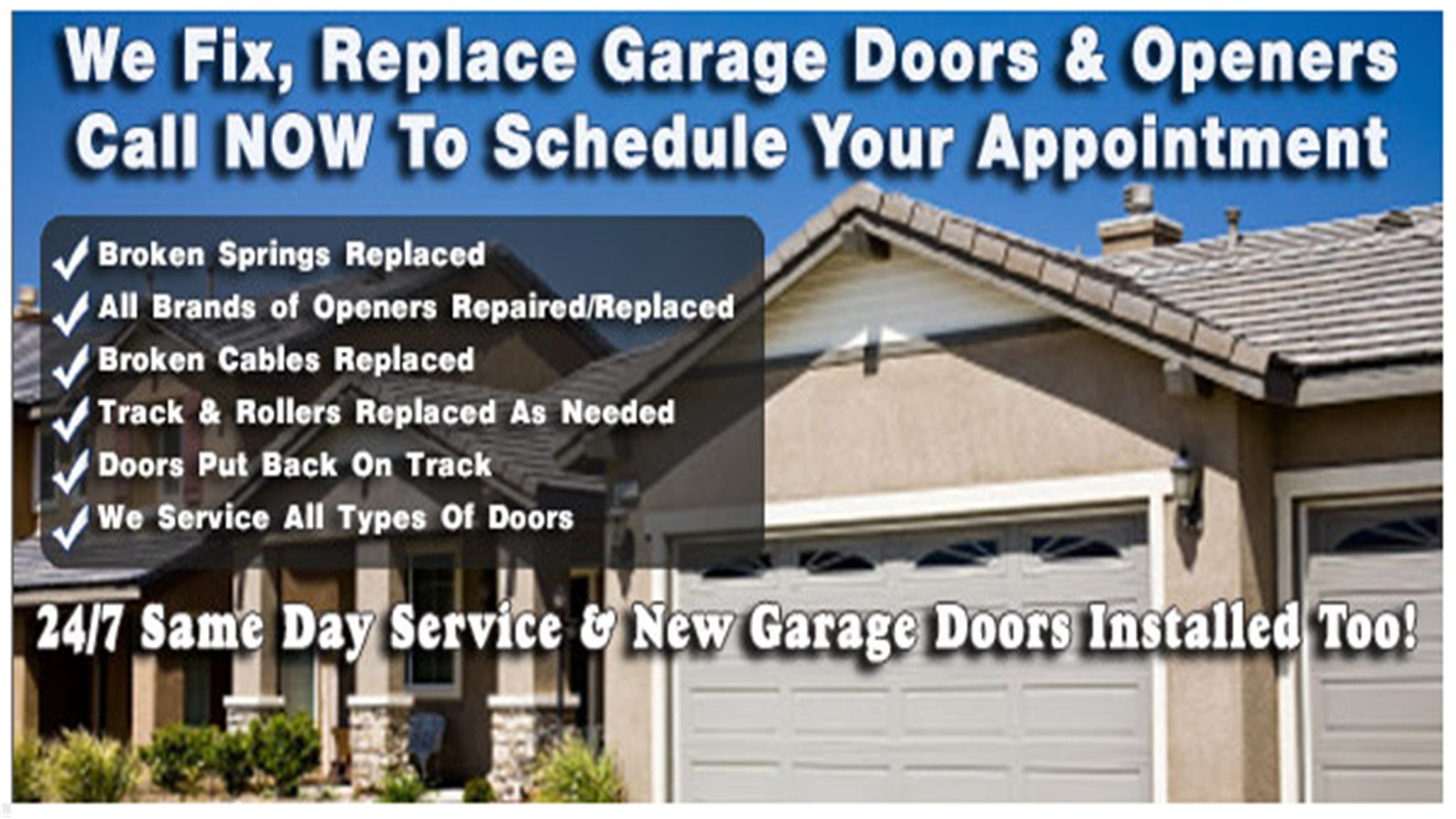 Oklahoma City Garage Door Repair Call 405 571 3057 Youtube