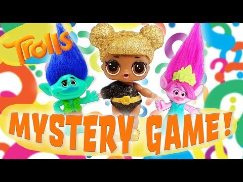 LOL Dolls and Trolls Mystery Clue Guessing Game! Starring Queen Bee, Poppy and Branch!