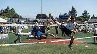 Portland barefoot soccer festival 2015- highlights, street soccer, freestyle, takraw,