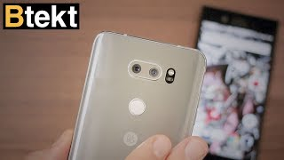 LG V30 vs Sony Xperia XZ1 one week in