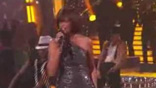 Whitney Houston Million Dollar Bill Dancing With The Stars 11 24 2009