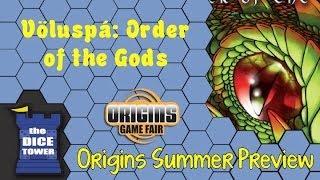 Origins Summer Preview: Völuspá Order of the Gods