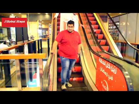 Escalator Advertising - Corniche Commercial Center - Jeddah, Saudi Arabia 2016