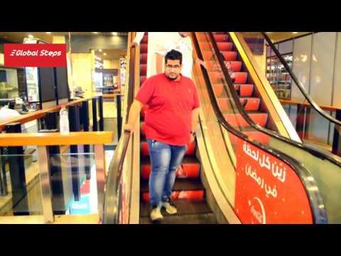 Escalator Advertising - Corniche Commercial Center - Jeddah, Saudi Arabia 2016