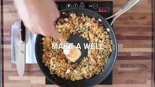 How To Make KFC RICE (Kimchi Fried Cauliflower Rice)