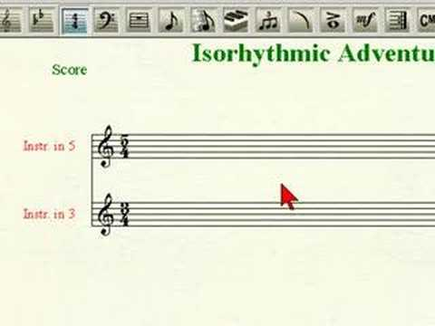 Isorhythmic Notation in Finale
