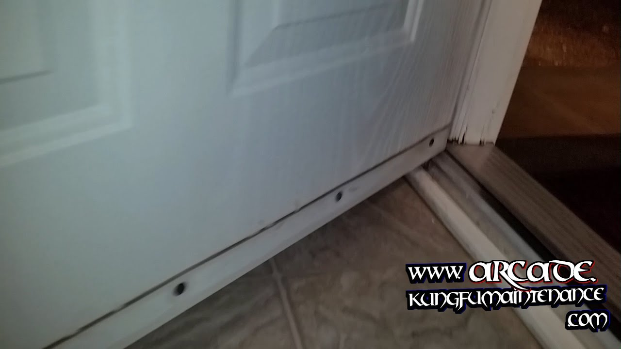 Front Door Leaking Water Every Time That It Rains Home Repair Video