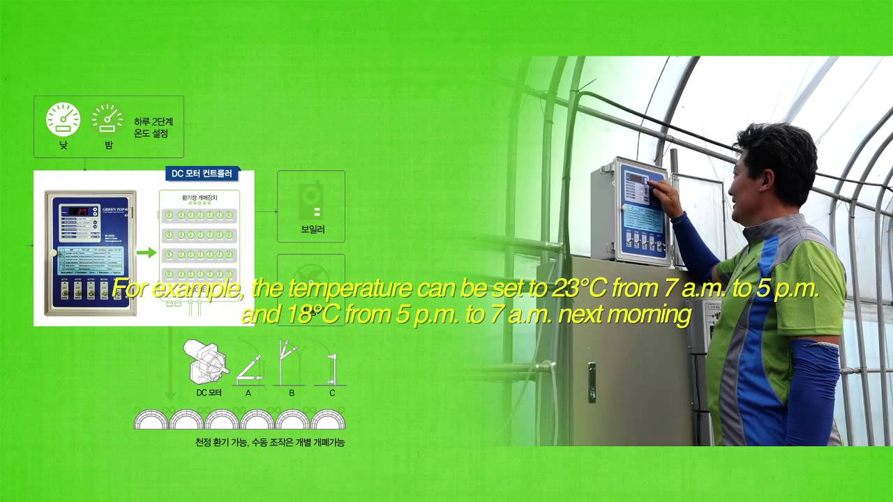 MO GREEN Greenhouse Environment Control System - YouTube