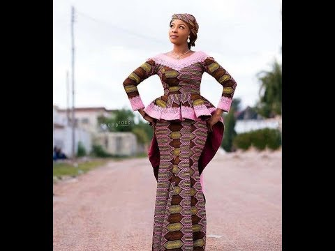 2020 AFRICAN WOMEN DRESSES: MOST STYLISH, ICONIC AND TRENDY ANKARA STYLES FOR RADIANT WOMEN