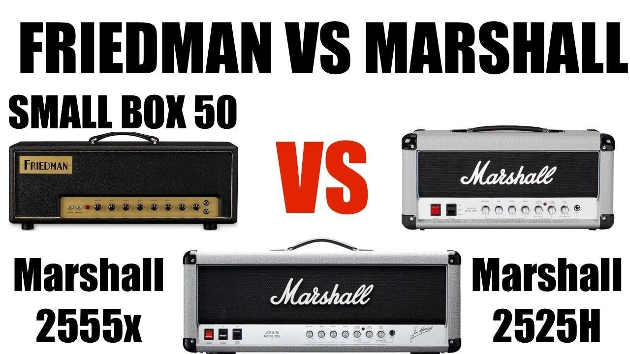 friedman small box 50 vs marshall 2555x vs marshall 2525h in the mix youtube. Black Bedroom Furniture Sets. Home Design Ideas