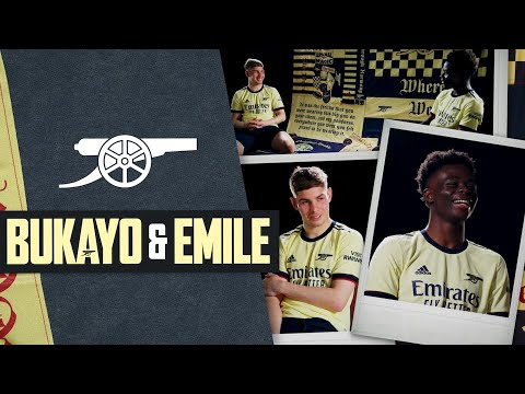 Saka & Smith Rowe | How did Bukayo find out he was to train with the first team? | Behind the Cannon