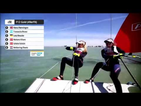 49er Sailing Live Replay - 2016 Worlds Day 4 - Gold Fleets