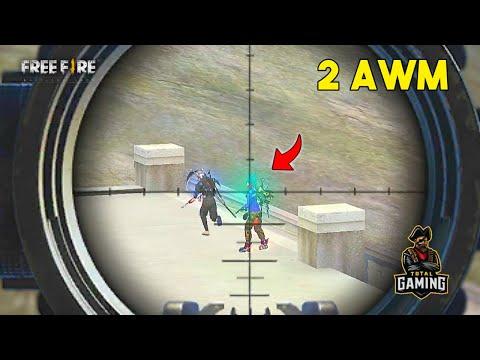 RAJ Love SNEHA 2 AWM Solo vs Squad Situation Valentine Gameplay - Garena Free Fire