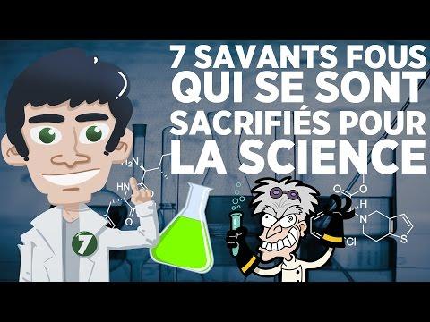 7 savants fous qui se sont sacrifiés pour la science