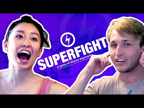 WE PLAY SUPERFIGHT! (Squad Vlogs)