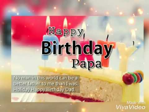 Happy Birthday Papaji Birthday Song In Hindi Youtube
