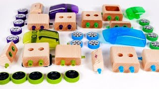 Learn Colors with Toy Cars for Children | Learn with Yippee Toys