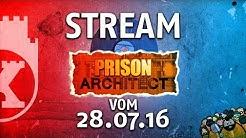 Wir, die LaserDisc und Prison Architect 2.0 - Stream vom 28.07.16 (Mats, Basti, Babba)