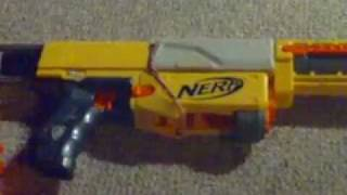 how to make your Nerf recon cs 6 semi automatic