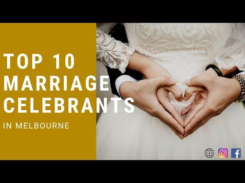 Top 10 Marriage Celebrants In Melbourne (2019)