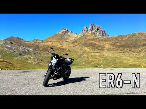 Riding My Kawasaki ER6N In The French Pyrenees