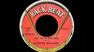 Jeanette Williams - All Of A Sudden