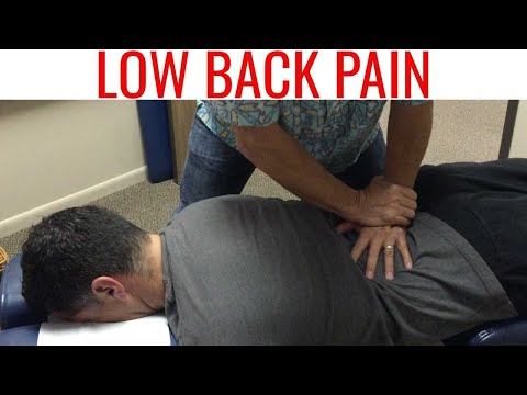 Full spine CHIROPRACTIC adjustment for LOW BACK PAIN does NOT work. thumbnail