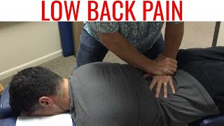 full spine chiropractic adjustment for low back pain does not work