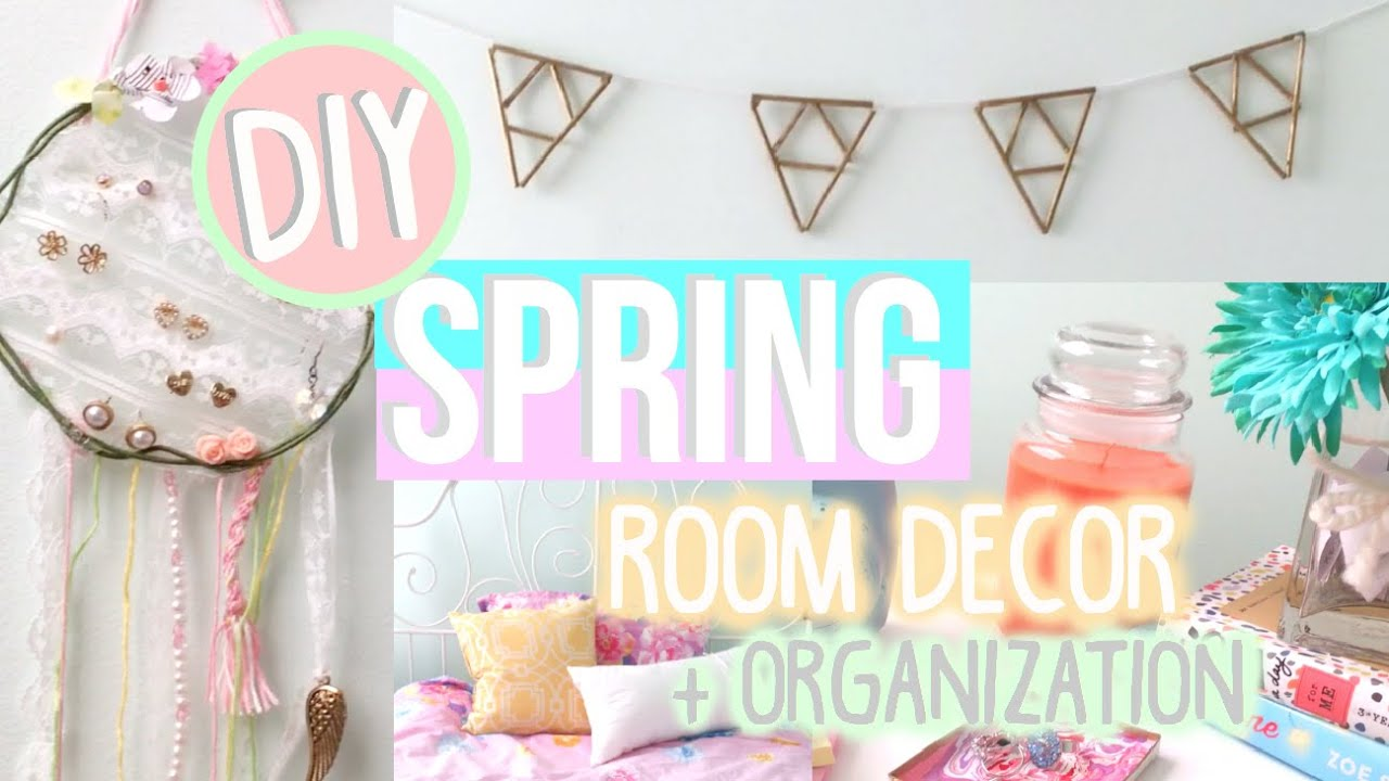 Diy spring room decor organization tumblr urban for Room decor organization
