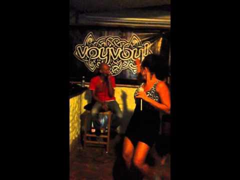 "Karaoke in the Dominican Republic ""Three Little Words"" by Bob Marley"