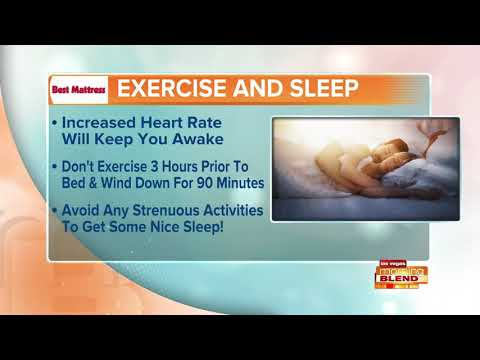 Sleep Tip: Avoid Exercise Before Bed Time