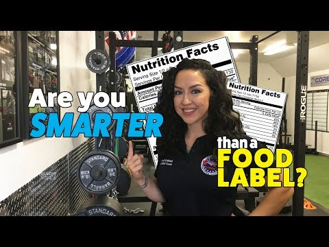 Are you SMARTER than a Food Label? | Core Strength & Performance