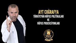 8-Türkiyenin Nüfus  Projeksiyoları  aytcoğrafya tytcoğrafya kpsscoğrafya yks
