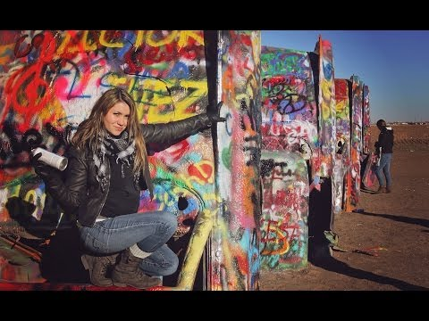 CADILLAC RANCH // Texas, USA
