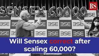 Will Sensex correct after scaling 60,000? What tech charts are suggesting