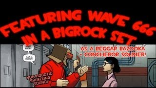 TF2 - MvM: Wave 666 meets Bigrock (Custom mission w/ Bazooka Concheror Solly)