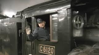 SLぐんまみなかみ高崎駅発車