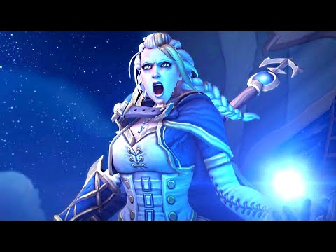 Jaina Meets Her Undead Brother Derek Proudmoore Cinematic 🔥 ALLIANCE & HORDE Version. WOW BFA 8.1.5
