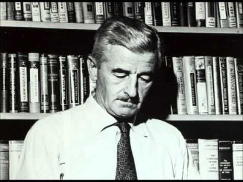 """William Faulkner reads from his novel As I Lay Dying RARE AUDIO OF FAMOUS WRITER """"Tull"""" ANALYSIS"""
