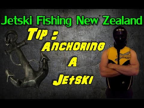 How to anchor on a jetski while fishing