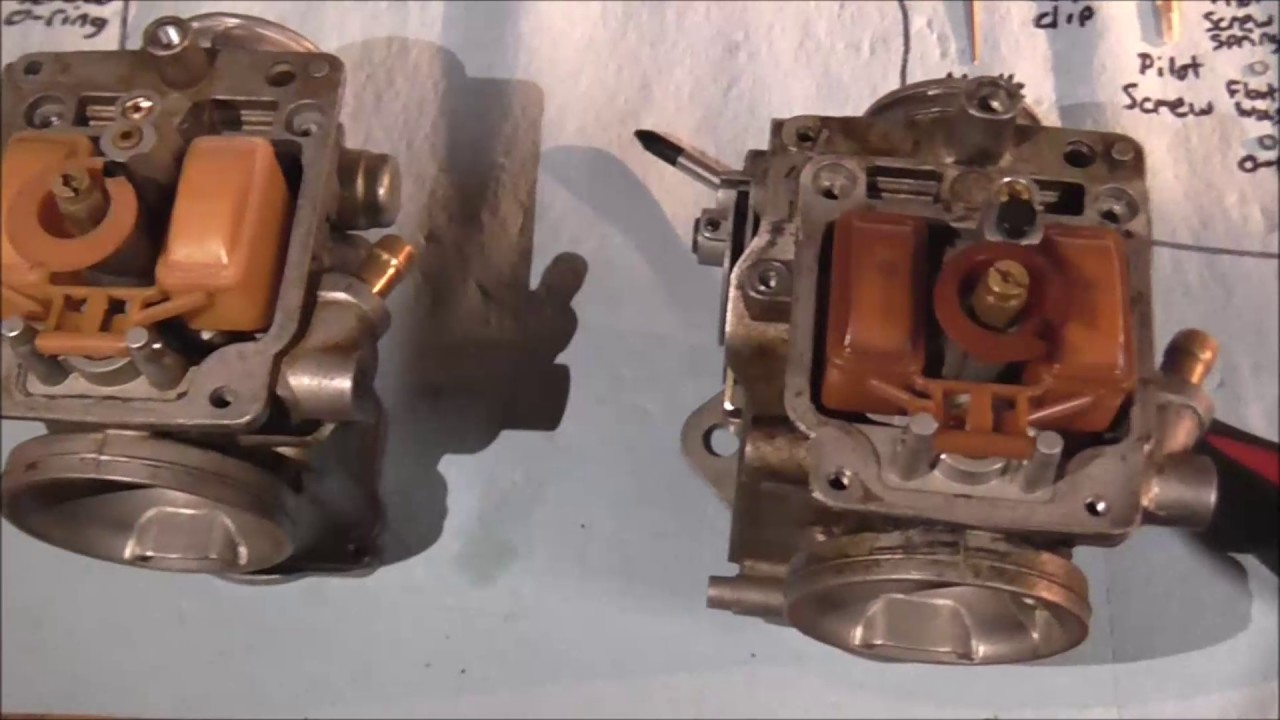1985-1987 Honda 250sx  Big Red Carb Rebuild Tutorial